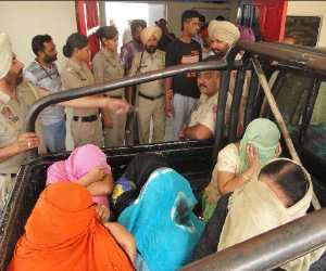 sex racket busted at moga