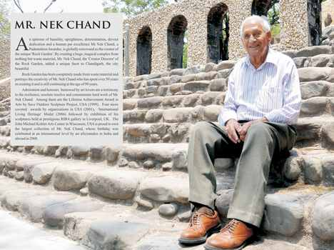 rock garden creator nekchand personal life secrets