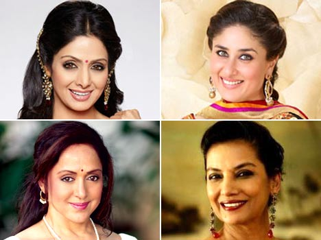 bollywood's stepmoms and their children