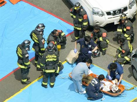 Two people dead in Japan bullet train fire after man set himself alight