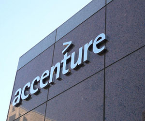 Accenture hiring 95,000 people in current fiscal
