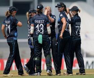 newzeland women team won against team india