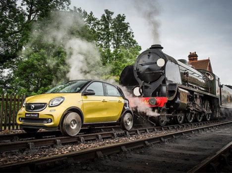 Forfour: The World's Smallest Train is a Car