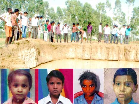 4 child dead after fall in illegal mining pits.