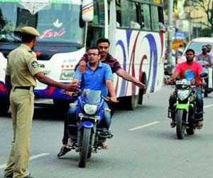 parents will be booked if minor drive or ride
