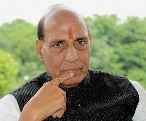 rajnath singh did not suport shivraj singh chauhan, like sushma and vasundhara