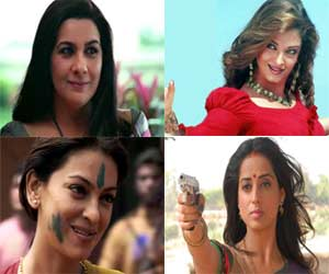 bollywood actresses played negative role