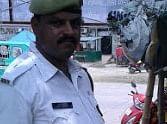 traffic police found money bag