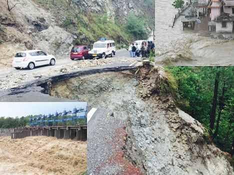rain and flood in uttarakhand.