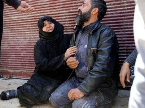 syria 100 people killed