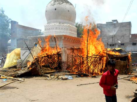Tension creates in Mahoba after incident.