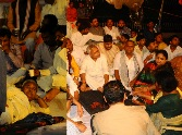 UP BJP protest against state govt.
