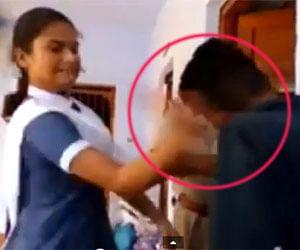 pilibhit girl beaten a youth for stalking video viral