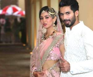 Shahid takes first selfie with Mira just after marriage