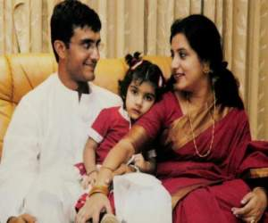 sourav ganguly and his wife dona