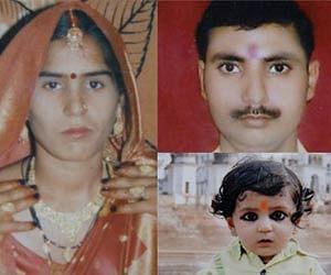 Triple murder in Kanpur.