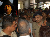 Firing on a lawyer in kanpur.