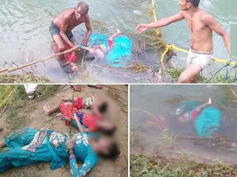 with childs, mother jump in to bhakra river, dead