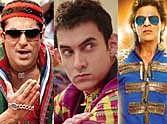 Salman Khan, shahrukh Khan and Aamir Khan movies collection