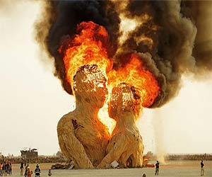 Blaze of glory: the flaming art of Burning Man–in pictures