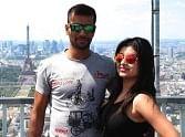 Team India s Ashok Dinda enjoying in Europe with wife