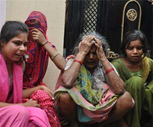 CRPF Constable wife And 3 childrens Murdered in Gorakhpur.