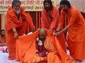 builder sachin datta become mahamandaleshwar baba