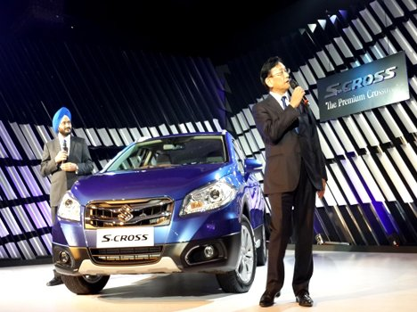 Maruti S Cross Launched at Rs 8.34 lac