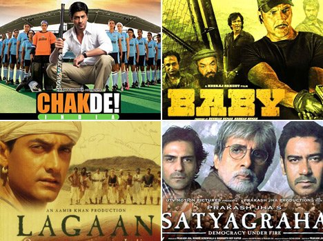 Bollywood new type patriotism films