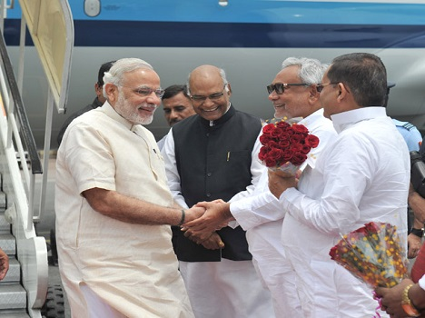 Narendra Modi In Bihar to inaurgurate projects