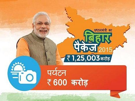 pictorial presentation of Modi's Bihar special package