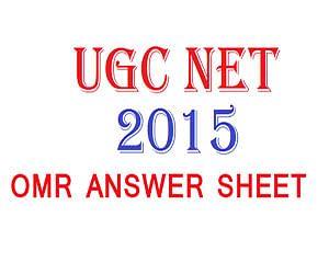 CBSE issues OMR answer sheet for NET June 2015