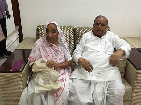 Image result for mulayam singh yadav mother