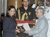 Sania Mirza conferred with Rajiv Gandhi Khel Ratna award