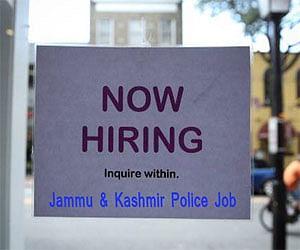 Jammu & Kashmir Police notifies to hire 4000 Constable