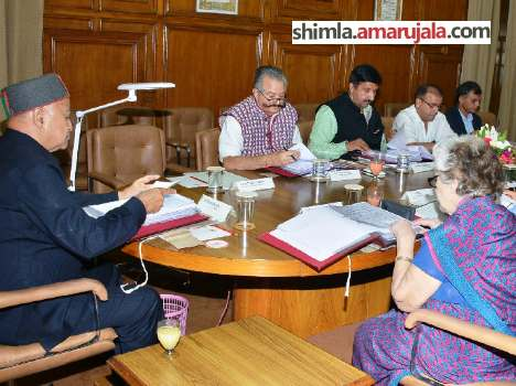 hp govt cabinet meeting: recruitment on 1037 posts and special incriment for teachers.