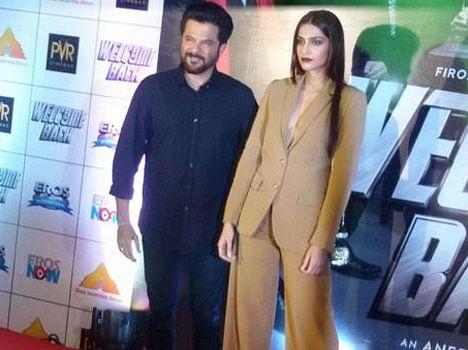 Sonam Kapoor in Anil Kapoor TV show 24