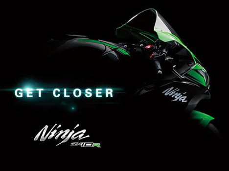 2016 Kawasaki Ninja ZX-10R Teaser Out, To be Unveiled Next Month