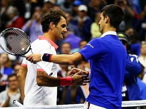Novak Djokovic beats Roger Federer in 4 sets for US OPEN 2015