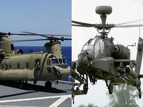 Two fighter helicopters may come in India