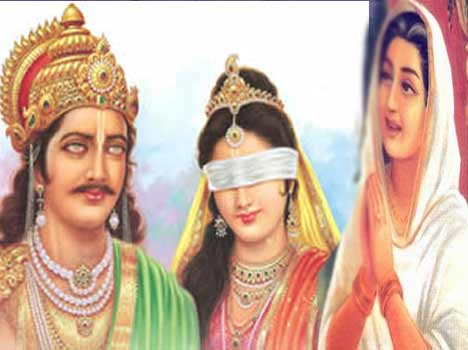 Image result for mahabharata kunti