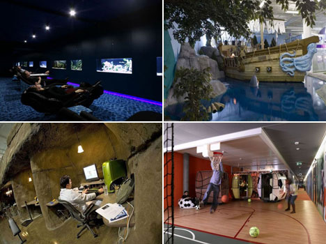Creative and amazing workplaces