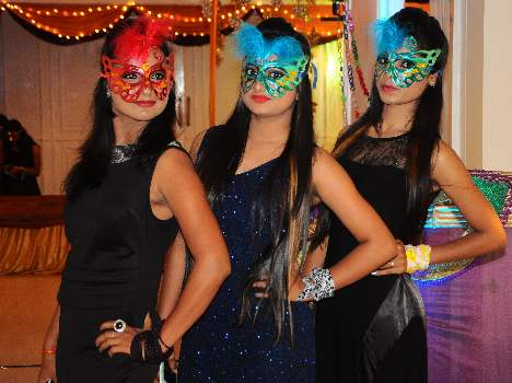 Freshers party of asma hussain institute of fashion technology.