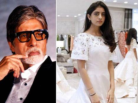 Amitabh Bachchan's granddaughter Navya Naveli Debut in Paris based event