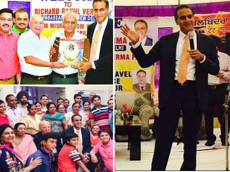 american ambassador richard rahul verma punjab visit