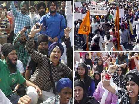 guru granth sahib insult, sikh people on raod