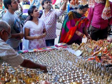 2015 dhanteras shopping