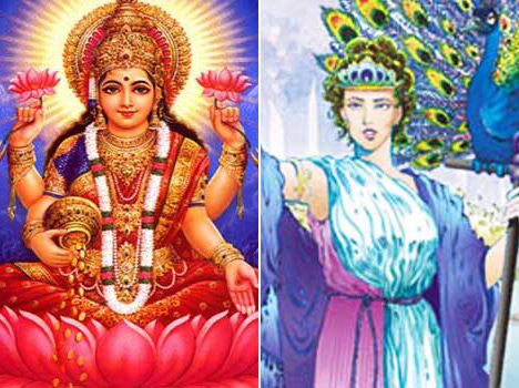 goddess lakshmi is worshiped in different ways in the world