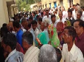 crowd for the nominations jaunpur