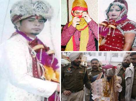 man was doing second marrige, arrested by woman police cell